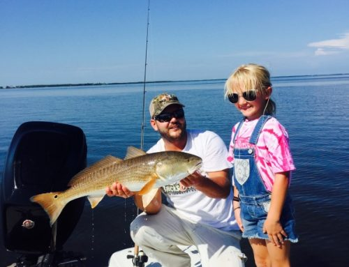 Red hot September charter fishing for reds and tarpon